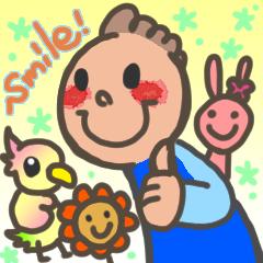 Smile PlusのLINEスタンプの誕生